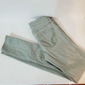 Hollister light green jeans